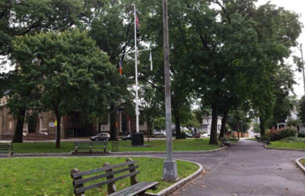 Veterans Park & Bennent St